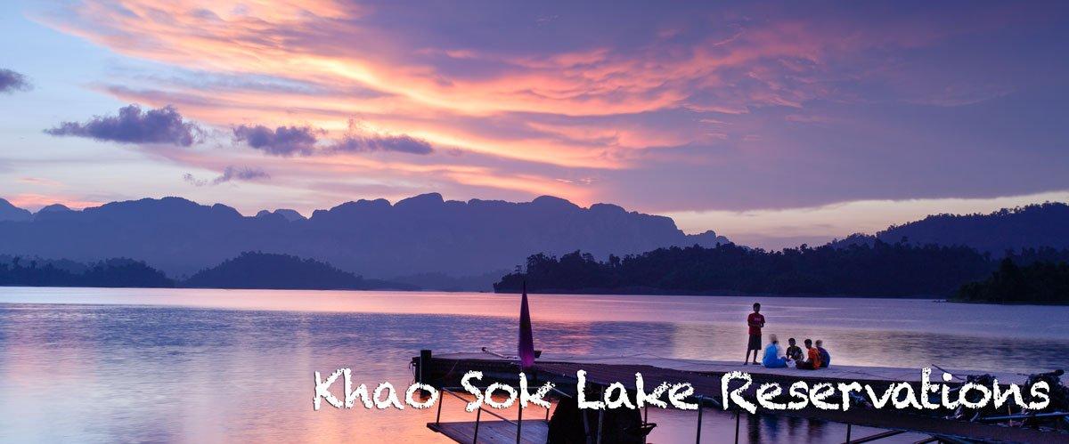 Khao Sok Lake Reservations