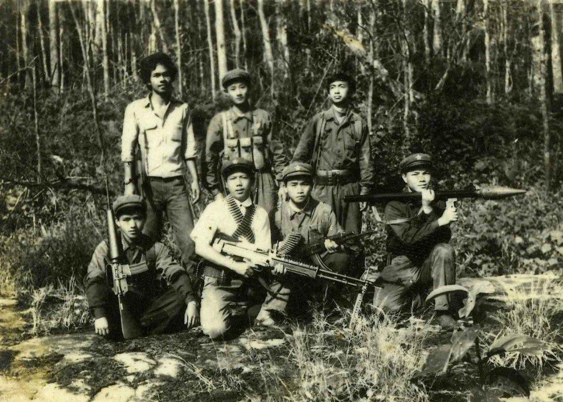 Historic Picture Khao Sok National Park Communists