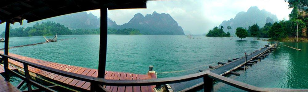 Floating Bungalows Klong Ka Rafthouse Sustainable Tourism at Khao Sok Lake