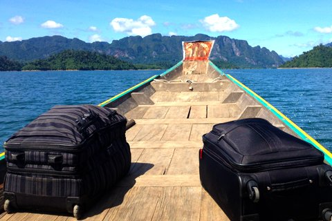 Khao Sok Lake Tours on the Boat