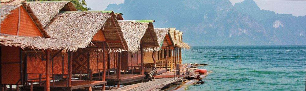 charming bamboo bungalows of Krai Son