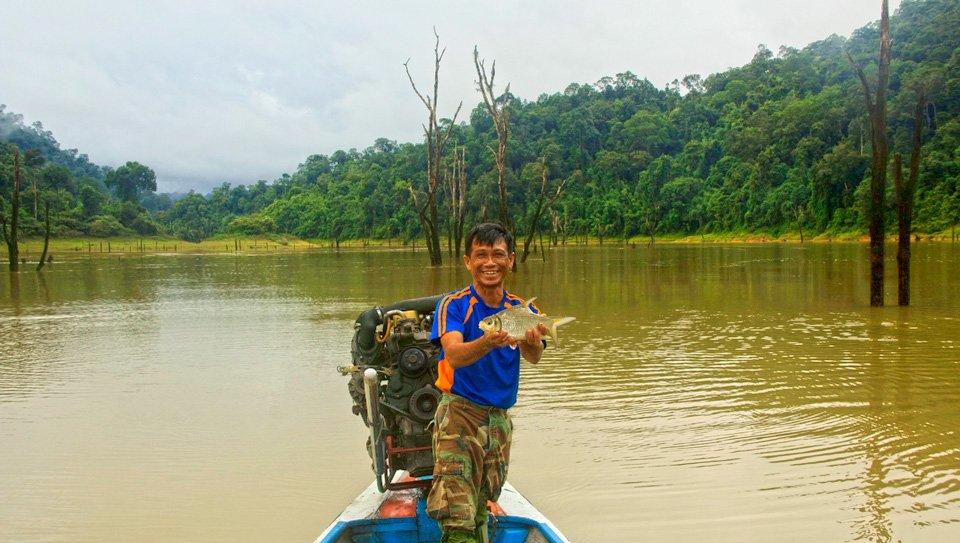Researching Wildlife in Thailand at Klong Saeng Wildlife Sanctuary
