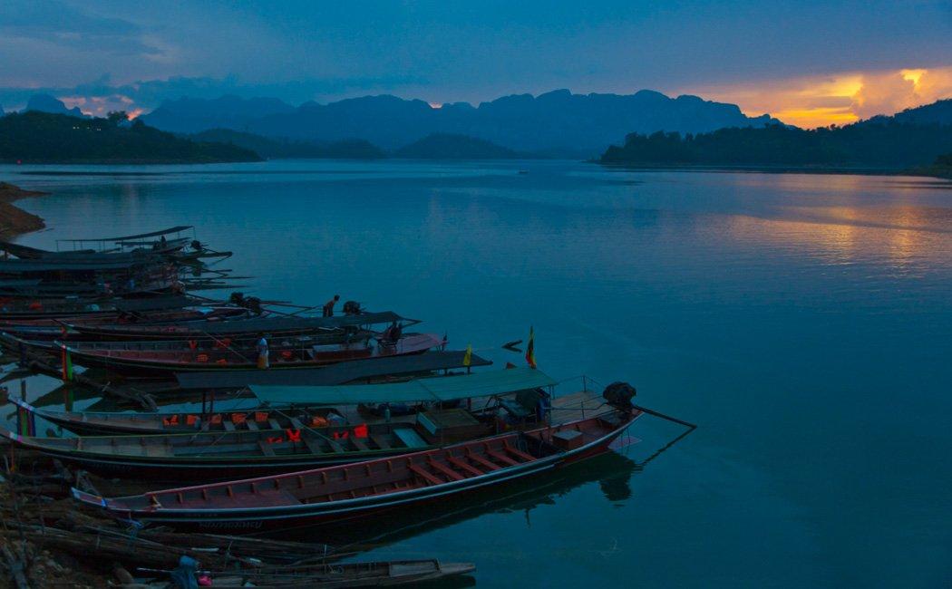 Khao Sok Lake Sunset