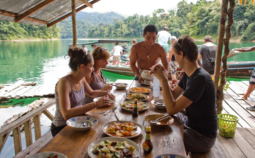 Khao Sok Traditional Thai Breakfast