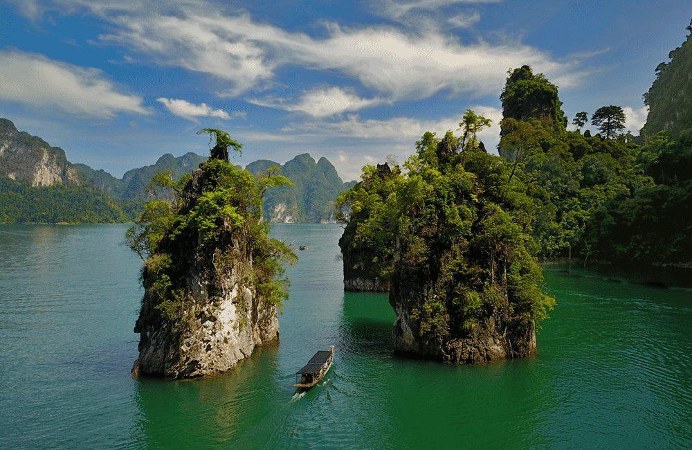 Khao Sok Lake, Cheow Lan, Khao Sok National Park, Gui Lin