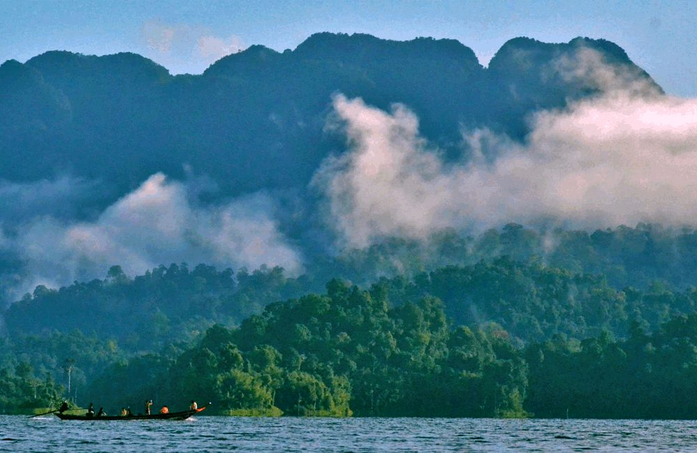 Morning Mist on Khao Sok Lake