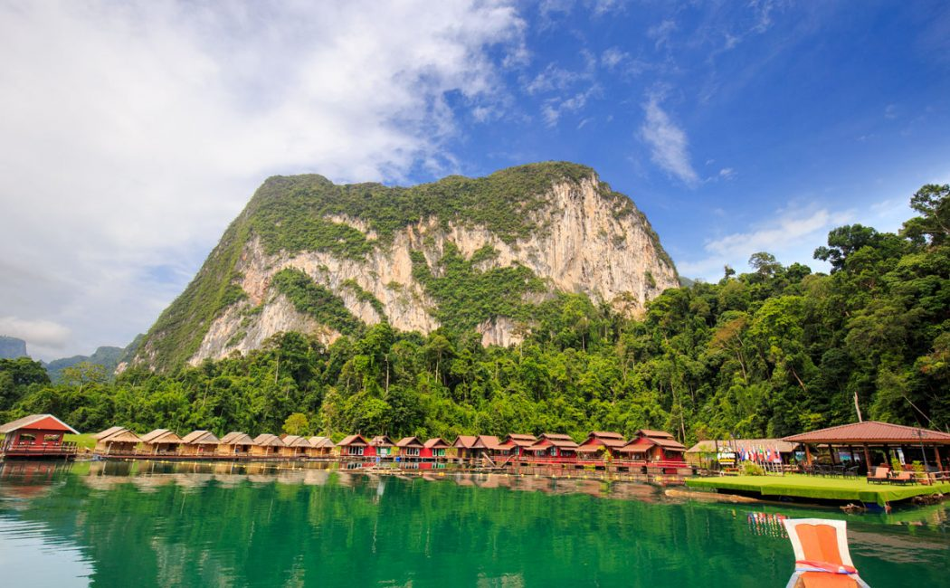 Klong Ka Raft House, Khao Sok Lake