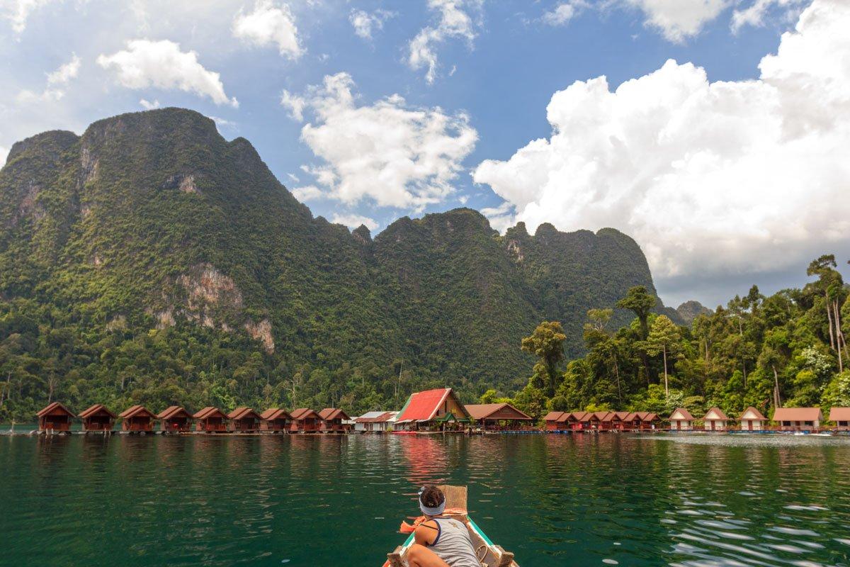 Plern Prai Modern Raft House, Khao Sok Lake